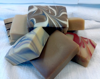 SAVE-6 Bars of Vermont made Goat Milk Soap/you choose the scent/creamy luxurious lather
