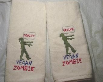 Beware Da Zombies Machine Embroidery Designs