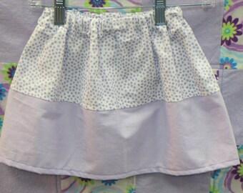 Girls Skirts - Toddler Skirts - Purple Polka Dots - 18M