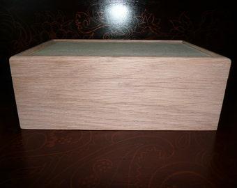 Custom Red Oak Box