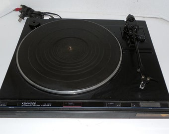 Kenwood  Belt Drive Turntable with Warranty - Vintage  1970's