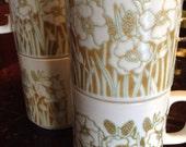 Vintage Hornsea Fleur Mugs