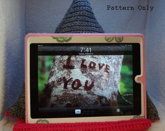Tablet Pillow Crochet Pattern