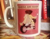 Harold and Maude illustrated mug