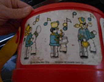1979 Fisher Price 921 Toy Drum With Strap
