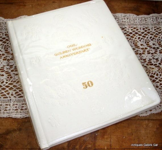 Hallmark Wedding Anniversary Gifts: Golden Wedding Anniversary Album 50th Anniversay Hallmark