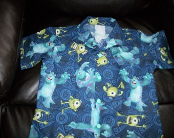 DISNEY MONSTERS UNIVERSITY shirt  size 3, 6, 9, 12, or 18 months