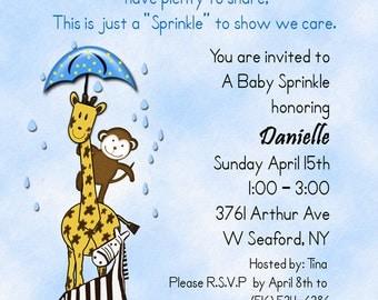 Sprinkle Baby Shower Invitation