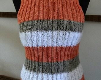 Unique Sleeveless Sweater