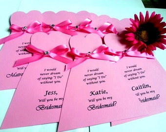 Will you be my Bridesmaid,Be my Bridesmaid Card,Ask Bridesmaid,Thank you for being my bridesmaid,Bridesmaid Gift,Bridesmaid present