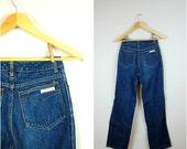 Vintage high waisted CALVIN KLEIN jeans / 1970's CK jeans