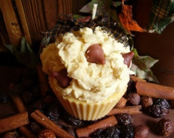 Chocolate Chip Cookie Dough Cupcake Candle
