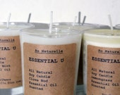 Essential U  Scented Soy Candles   -  Wholesale Listing For 25, 30, 50 Or 75 Candles      Natural Soy - Two Ounce Soy Candles