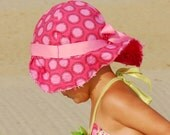 "Sun Hat ""Bucket"" or ""Sailor""  - Reversible"