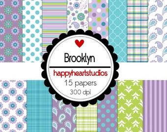 Digital Scrapbook Brooklyn-INSTANT DOWNLOAD