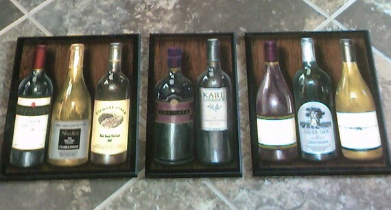 Wine Bottle Theme Kitchen Wall Decor Plaques Napa Valley California Signs Item 157939179