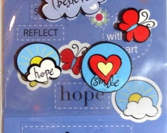 GIRL SCOUTS Stickers - Scrapooking Embellishments - Inspiration
