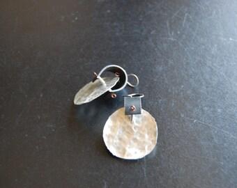 Big Disk Tribal earrings