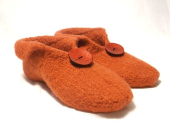 Felt Slippers Knitting Pattern