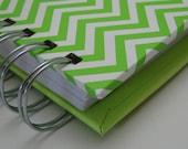Birthday/Anniversary Reminder Calendar with Green Chevron Cover