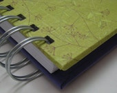 Mini 1 Yr. Gratitude Journal with Green and Purple Floral Cover