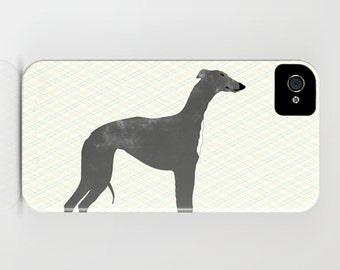 Whippet Dog on Phone Case - whippet, Samsung Galaxy S6, Gift Ideas, iPhone 6S, iPhone 6 Plus, , Whippet Gifts, Mothers Day