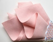 Blush Pink, Wool Felt Sheet, Pure Merino Wool, Doll Skin Supply, Flesh Felt, Doll Fabric, Waldorf Handwork, DIY Toy, Washable, Rose Quartz
