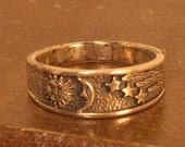Silver Ring of Celtic Design - Size 5.5 and 7.5