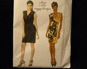 Uncut Butterick Pattern 5674 Size 6,8,10,12 Dress by Designer Suzi Chin