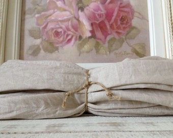 Natural Linen Chandelier or Cord Cover - Lighting - Chandelier Decor - French Decor