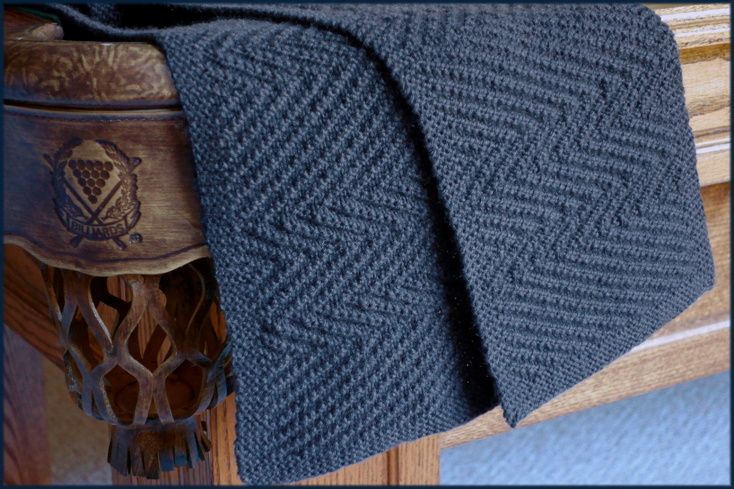Knitting Pattern For Mens Cashmere Scarf : Lamberhurst Scarf Knitting pattern Mens scarf Reversible