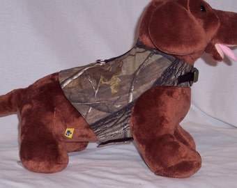 HARNESS PET CLOTHES Real Tree Print For Him