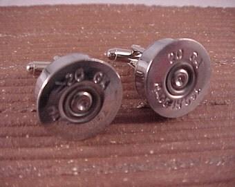 Shotgun Cufflinks / 20 Gauge Shotgun Shell Cuff Links / Bullet Cufflinks / Wedding Cufflinks / Groomsmen Gifts / Gifts For Men / Fathers Day