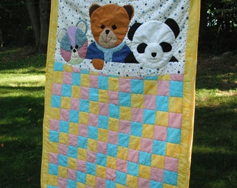 Panda Bear Baby Quilt Pattern Sewing Patterns For Baby