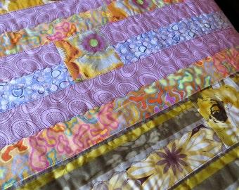 Lets Go Waltzing Matilda Modern Floral Quilt