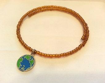 Childrens Necklace & Bracelet Set, Love Earth