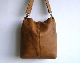Camel/ Tan  Shoulder Genuine Leather Bag