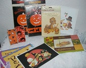 Halloween--Fall-- And Thanksgiving--Cards--Invitations--Ribbon