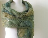 Reserve For Wendy Shawl Green Colors