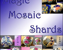 Magic Mosaic Shards Lampwork Tutorial Ebook
