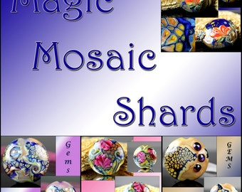 Jacqueline Parkes - Magic Mosaic Shards Lampwork Tutorial Ebook
