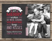 Missed Christmas - Custom Digital Photo Valentine's Day Card