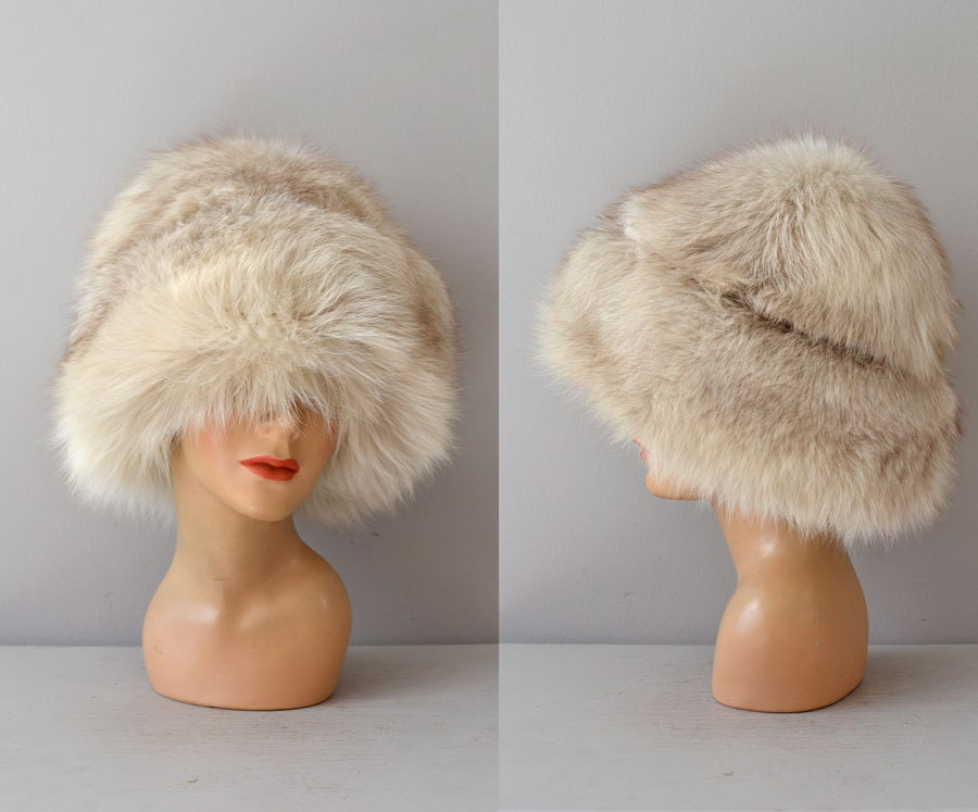 From Russia with Love / fox fur hat / big fur hat by ...