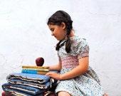 Napmat - Eco Friendly Preschool Nap mat - Non Toxic Back to School Toddler Nap Pad in Orange with Organic Denim