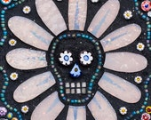Day of the Dead Sugar Skull 8x10 - Giclée Fine Art Print