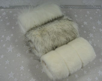 Child's Mink Faux Fur Hand MUFF, Girl's Hand Muff, Faux Fur Muff,  Handmuff, White Fur Muff