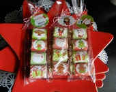 18 Christmas Candy Wraps and 6 Tags-Teacher Appreciation Gifts-Christmas Neighbor Gifts and Family & Friends