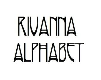 Instant Download - Helena Alphabet Filet Crochet Cross Stitch Pattern
