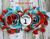 Dr Seuss Thing 2 Headband--Girls Headbands-Toddler/Baby Headband- Theme Headband