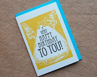 A Very Happy Birthday To You - Sweet Treats - 4bar card and envelope